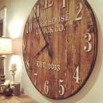 : Oversized wall clocks and also large wooden wall clock and also extra large decorative wall clocks