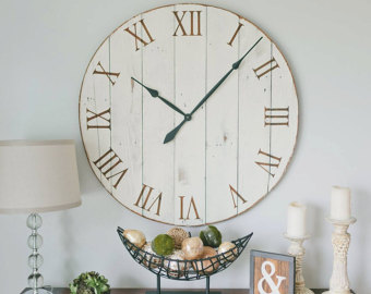 Oversized wall clocks and also round wall clock and also large rustic wall clock and also large grey wall clock