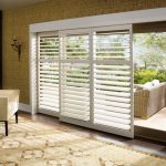 : Patio door blinds with roller blinds for patio doors with sliding glass door coverings