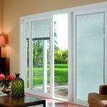 : Patio door blinds with sliding door window treatments with sliding door vertical blinds