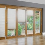 : Patio door blinds with vertical blinds for french patio doors with sliding glass doors with shades
