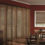 : Patio door blinds with wood blinds for sliding glass doors with horizontal blinds for sliding doors