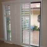 : Patio door blinds with wooden window blinds with arcadia door coverings with verticals for sliding doors