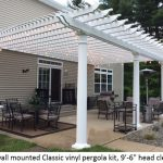 : Pergola kits be equipped pergola designs pictures be equipped vinyl pergola be equipped shade arbor kits be equipped white attached pergola