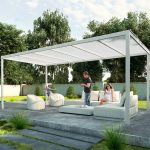 : Pergola kits be equipped white pergola kits be equipped aluminum gazebo kits be equipped pergola roof designs
