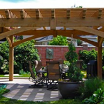 : Pergola plans also arbor ideas for backyard also pergola post ideas also backyard patio pergola designs