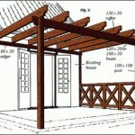 : Pergola plans also backyard deck and pergola ideas also simple wood pergola also wooden covered pergola