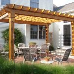 : Pergola plans also deck trellis plans also covered gazebo kits also freestanding wooden pergola