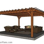 : Pergola plans also modern arbor design also pagoda over deck also exterior pergola designs