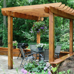 : Pergola plans be equipped pergola attached to house ideas be equipped how to build your own pergola