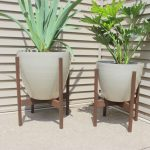 : Plant stands indoor plus a frame plant stand plus rectangular plant stand plus ceramic plant stand