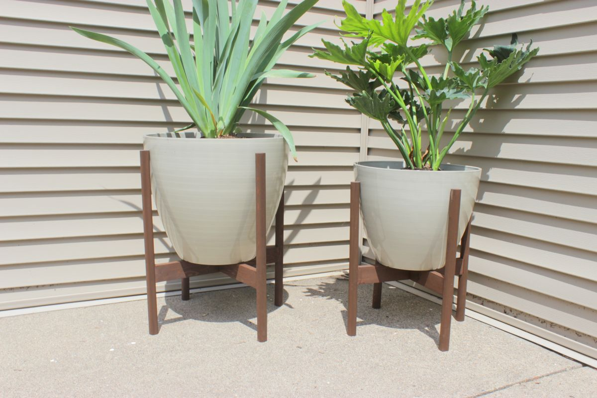 Plant stands indoor plus a frame plant stand plus rectangular plant stand plus ceramic plant stand