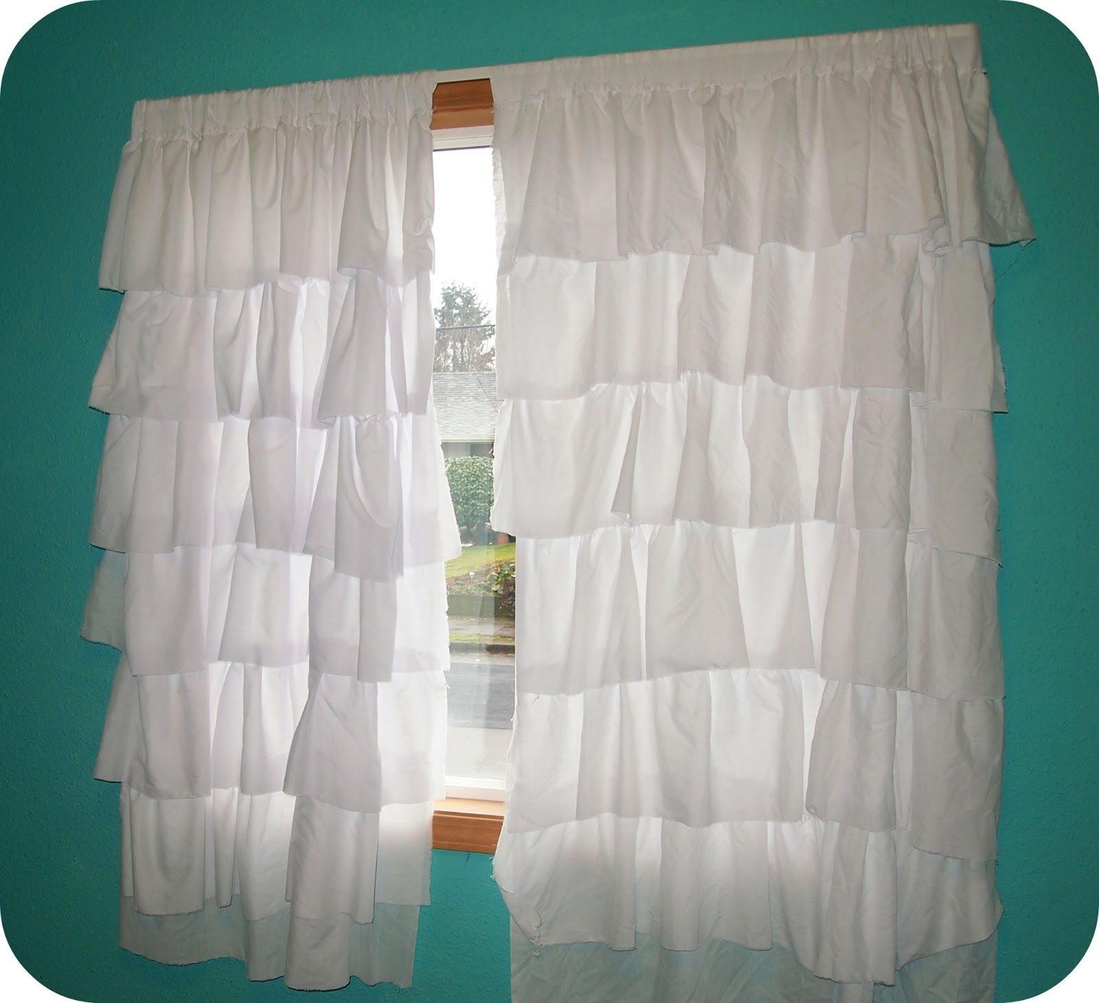 Ruffled curtains and also balloon curtains and also white sheer curtains and also curtain panels and also cheap curtain