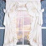 : Ruffled curtains and also tan ruffle curtains and also thermal backed curtains and also priscilla tie back curtains