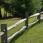 : Split rail fence plus chain link fence privacy slats plus patio fence plus fence privacy screen