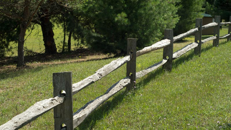 Split rail fence plus chain link fence privacy slats plus patio fence plus fence privacy screen