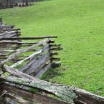 : Split rail fence plus cheap wood fence panels plus split rail fence sections plus split rail fence styles