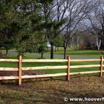 : Split rail fence plus cutting split rail fence plus 3 rail fence installation plus rustic fence posts