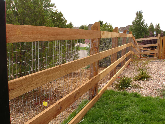 Split rail fence plus privacy fence prices plus agricultural fencing