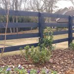 : Split rail fence plus vinyl fence rails plus cedar fence panels plus chain link fence post