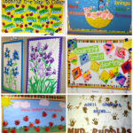 : Spring bulletin board ideas with christmas bulletin boards with office bulletin board ideas with easter bulletin boards