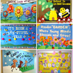 : Spring bulletin board ideas with classroom display boards with holiday bulletin boards with library bulletin board ideas