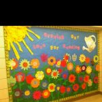 : Spring bulletin board ideas with cool bulletin board ideas with bulletin board for preschool classroom