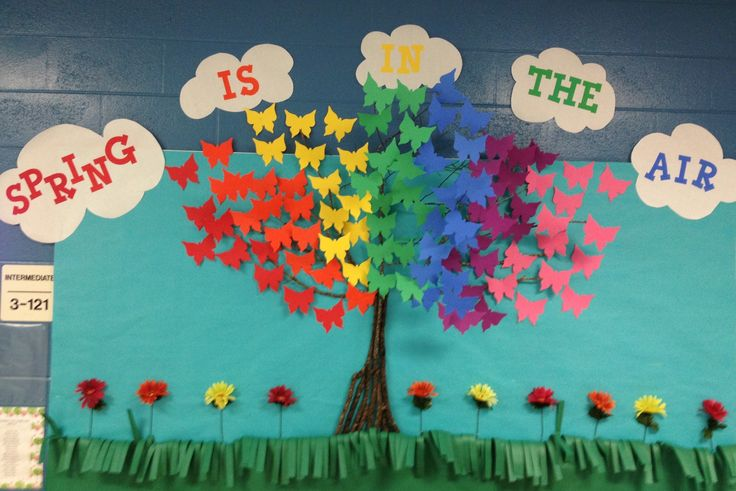 Spring bulletin board ideas with december bulletin board ideas with november bulletin board ideas