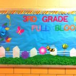 : Spring bulletin board ideas with fall bulletin boards with bulletin board decorations with springtime bulletin boards