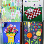 : Spring bulletin board ideas with notice board ideas with winter bulletin boards with april bulletin boards