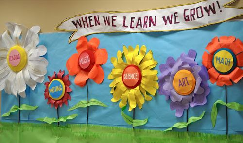 Spring bulletin board ideas with spring bulletin board ideas for preschool with spring bulletin board decorations