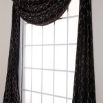 : Swag curtains plus french door curtains plus valances window treatments plus tie up curtains