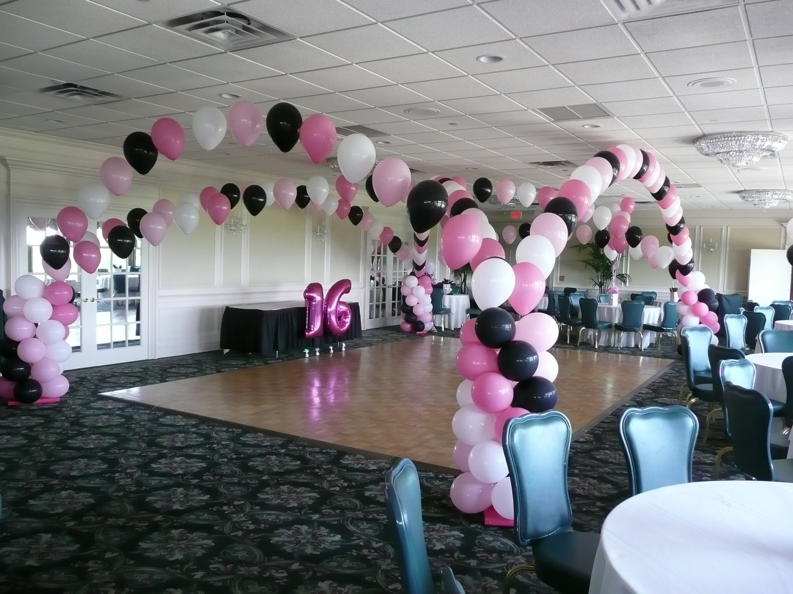 Sweet sixteen decorations and also sweet 16 wall decorations and also sweet 16 yard decorations