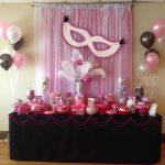 : Sweet sixteen decorations and also sweet sixteen personalized favors and also sweet sixteen table centerpieces ideas