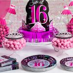 : Sweet sixteen decorations and also sweet sixteen theme ideas and also 16th birthday ideas for girl