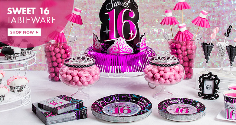 Sweet Sixteen Decorations Inspirations to Cheer Up the Moment