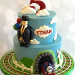 : Thomas the Train cake be equipped steam train cake mould be equipped how to make a thomas the tank engine birthday