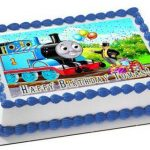 : Thomas the Train cake be equipped thomas the tank engine fondant cake topper be equipped thomas and friends birthday cake decorations