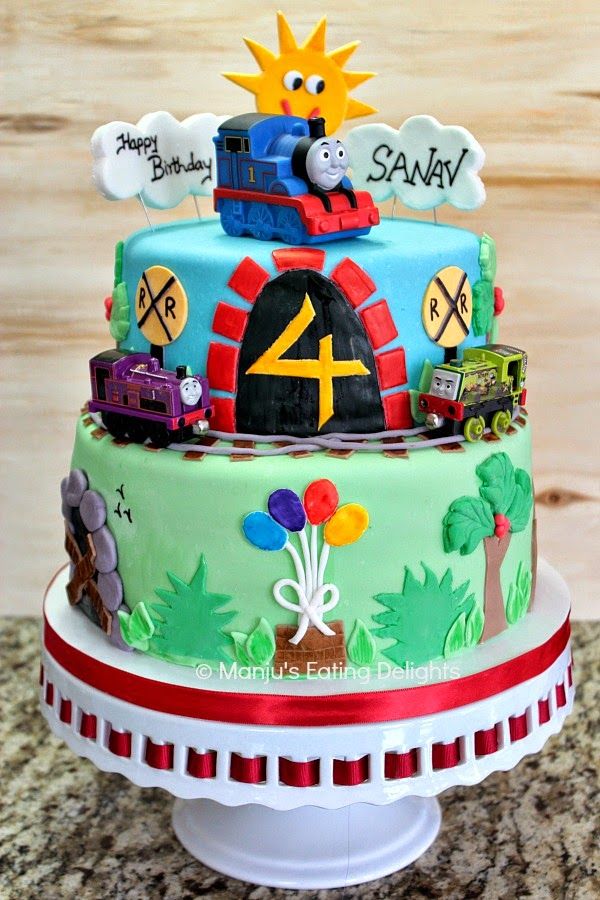 Thomas The Train Cake Be Equipped Thomas The Train Trains Be