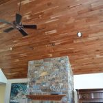 : Tongue and groove ceiling plus exterior tongue and groove ceiling plus cedar ceiling panels plus tong and groove ceiling