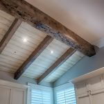 : Tongue and groove ceiling plus exterior tongue and groove plus tongue and groove beadboard plus tongue and groove cedar planks