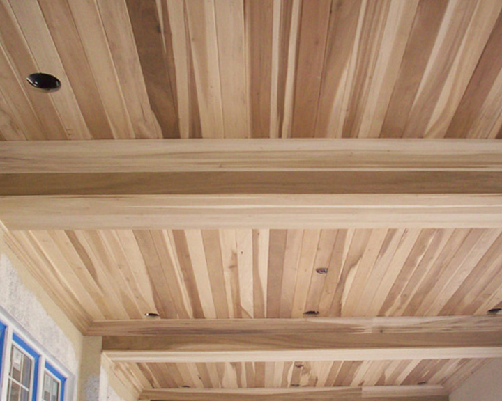 Tongue and groove ceiling plus pine paneling plus 1x6 tongue and groove pine ceiling plus tongue and groove wood paneling