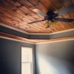 : Tongue and groove ceiling plus tongue and groove paneling plus tongue and groove ceiling planks