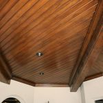 : Tongue and groove ceiling plus tongue and groove porch ceiling plus cedar ceiling planks plus tongue and groove pine walls