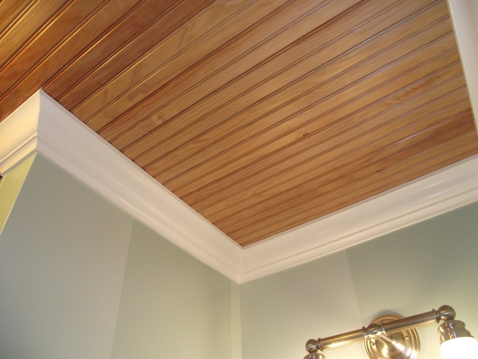 Tongue and groove ceiling plus tongue and groove wall boards plus exterior tongue and groove boards