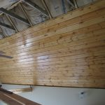 : Tongue and groove ceiling plus tongue and groove wall paneling plus tongue and groove wood ceiling plus cedar tongue and groove