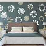 : Vinyl wall decals with bedroom wall stickers online with removable wall decals for bedroom with floral wall stickers