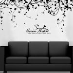 : Vinyl wall decals with giant wall stickers with full wall stickers with wall decals for living room