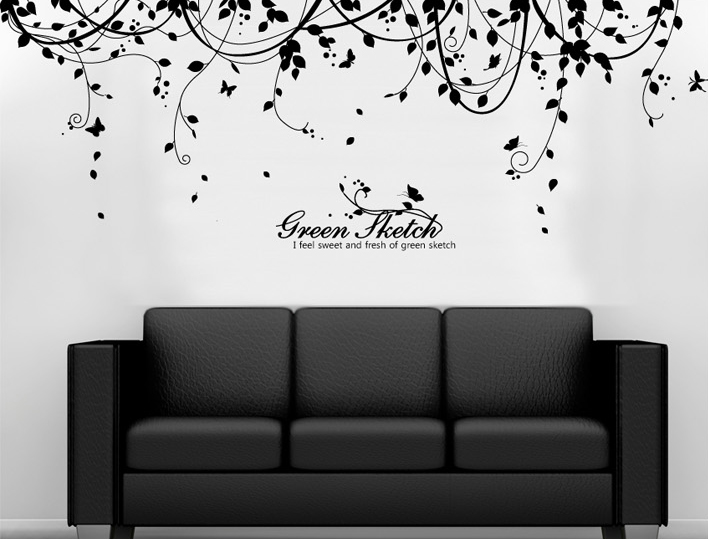 Vinyl wall decals with giant wall stickers with full wall stickers with wall decals for living room