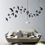 : Vinyl wall decals with large wall decals with wall sticker quotes with tree wall stickers